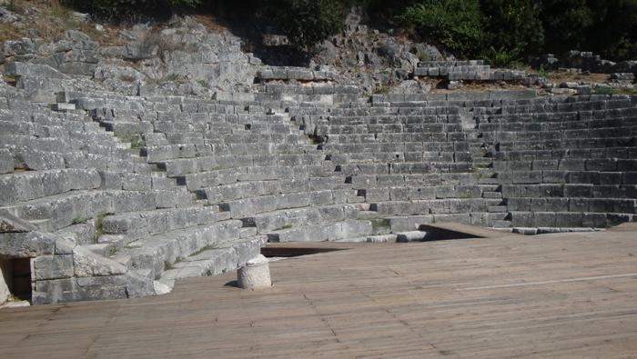 Das Amphitheater von Butrinti