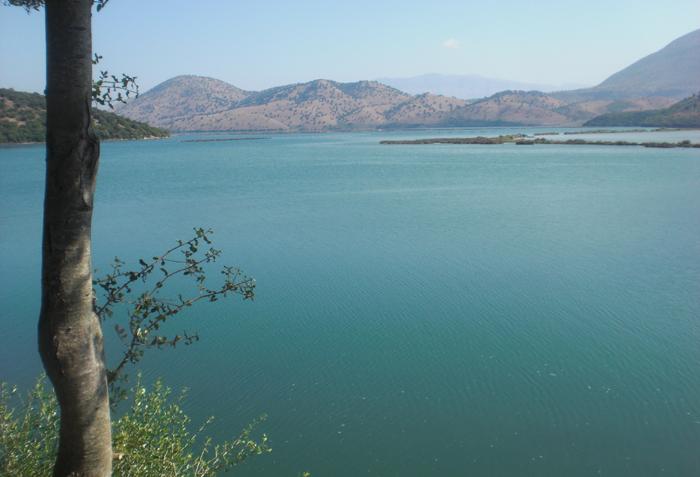Blick auf Butrini See