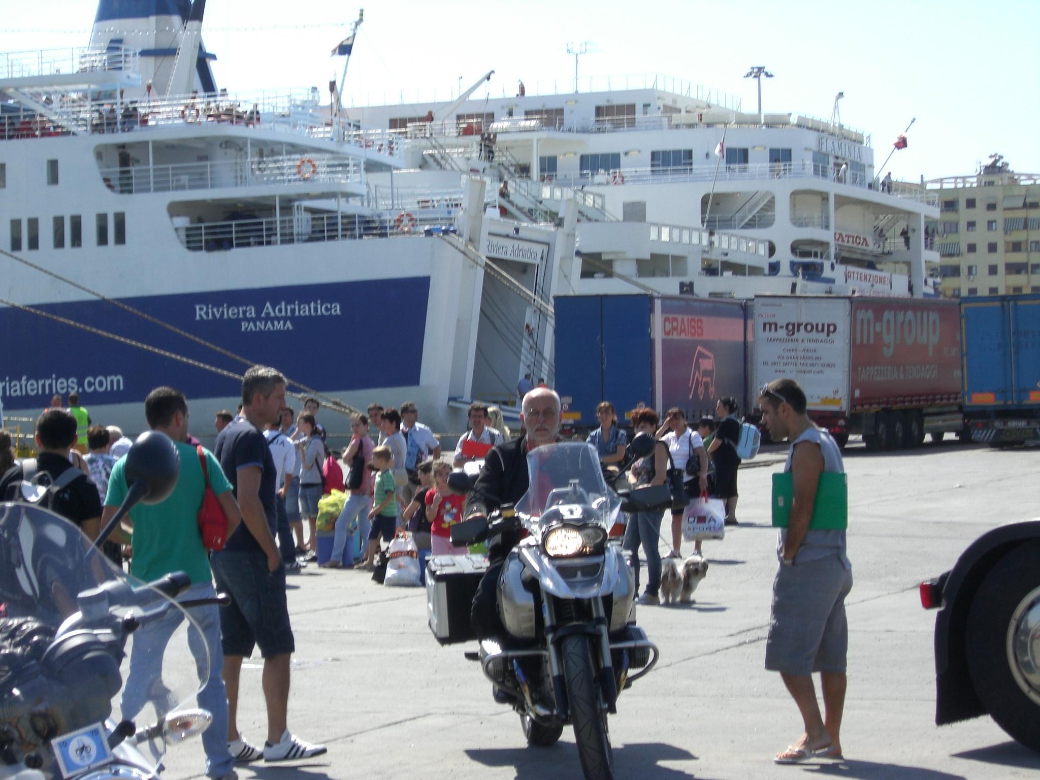 Motoradttour Albanien