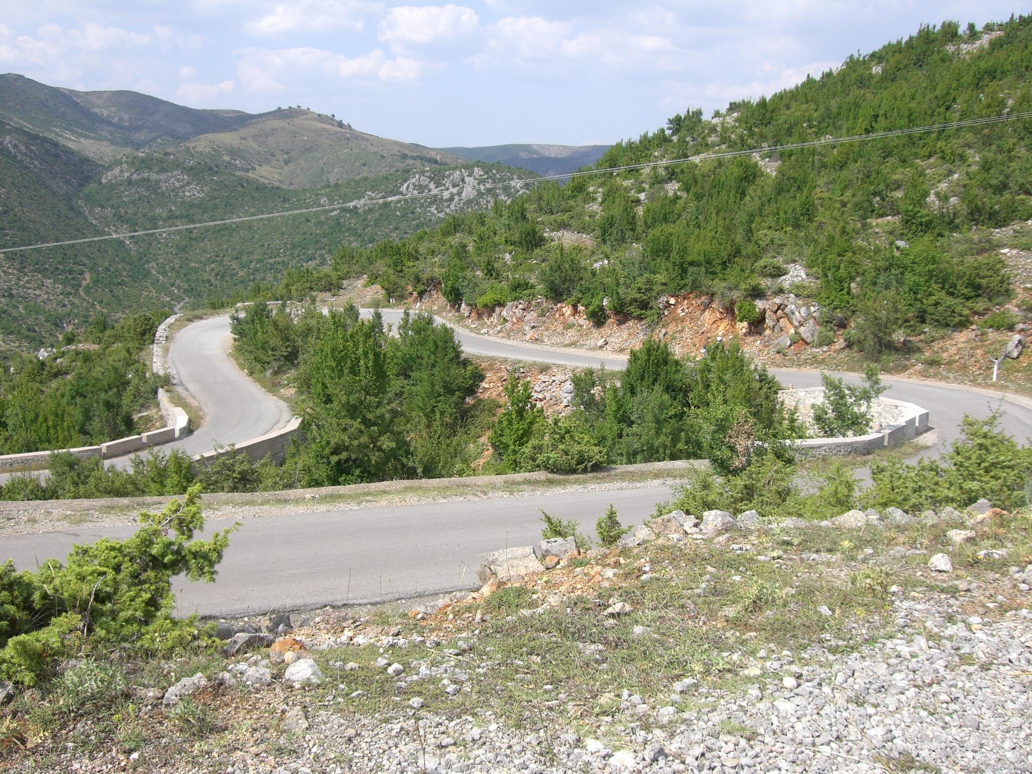 Unterwechs au unseren Motoradttour Albanien