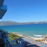 Albanien Urlaub in Radhime bei Vlora. Blick vom Hotel Regina